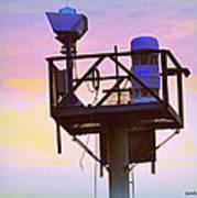 Towers Of The Shore Pt Pleasant Beach Art Print