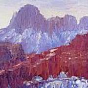 Towers Of The Virgin Valley Art Print