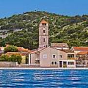 Town Of Tisno Waterfront Croatia Art Print