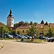 Town Of Vrbovec In Croatia Art Print
