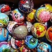 Toy Balls Art Print