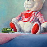 Toy Bear #1 Art Print by Rich Kuhn