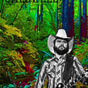 Toy Caldwell In The Woods Art Print