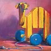 Toy Camel Art Print