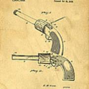 Toy Pistol Circa 1920s Art Print