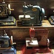 Toy Sewing Machines Art Print