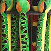 Toy Snakes Art Print
