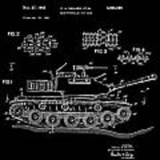 Toy Tank Art Print