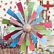 Toy Windmill Art Print