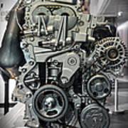Toyota Engine Art Print