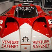 Toyota Gt1 Venture Safenet Art Print