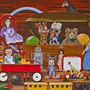 Toys In The Attic Art Print