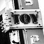 Toys Print by Nicholas Evans