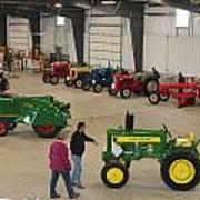 Mecum Tractor Auction Art Print