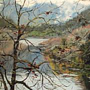 Traces Of Autumn Art Print