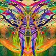 Tracings4 Art Print