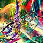 Tracings5 Art Print
