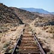 Tracks To Nowhere Art Print