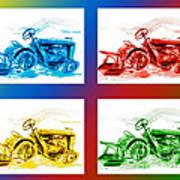Tractor Mania IIi Art Print