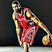 Tracy Mcgrady Portrait Art Print