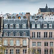 Traditional Buildings In Paris Art Print