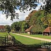 Traditional Countryside Britain Art Print