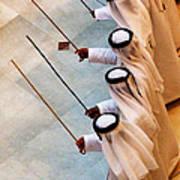 Traditional Emirati Men's Dance  Art Print