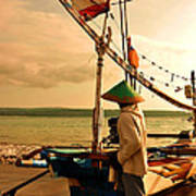 Traditional Fisherman Art Print