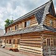 Traditional House In The High Tatra Mountains Poland Art Print