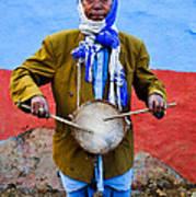 Traditional Musician I Art Print