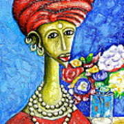 Traditonal Portrait Art Print