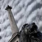 Trafalgar Square London Art Print
