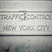 Traffic Control Art Print