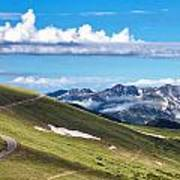 Trail Ridge Road In Rocky Mountain National Park Art Print
