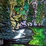 Trail To Broke-off Art Print