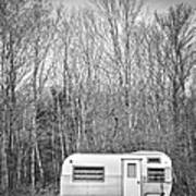 Trailer Art Print by Diane Diederich