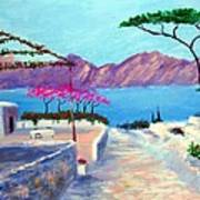 Trails Of Greece Art Print