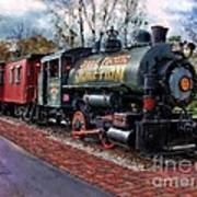 Train At Olmsted Falls - 1 Art Print