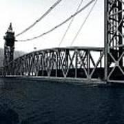 Train Bridge Down Art Print