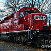 Train - Canadian Pacific 5690 Art Print
