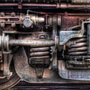 Train - Car - Springs And Things Art Print