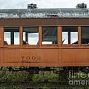 Train Coach Windows Art Print