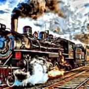 Train II Art Print