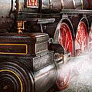 Train - Let Off Some Steam  Print by Mike Savad