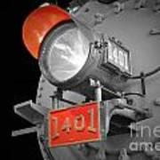 Train Light 1401 Art Print