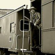 Train Robber Art Print