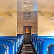 Train Seats Art Print