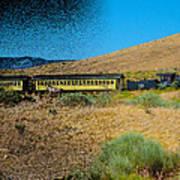 Train-sitions Art Print