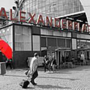 Train Station Alexanderplatz Art Print