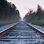 Train Tracks To Nowhere Art Print
